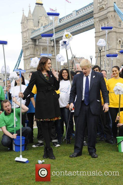 Boris Johnson and Keeley Hawes 7