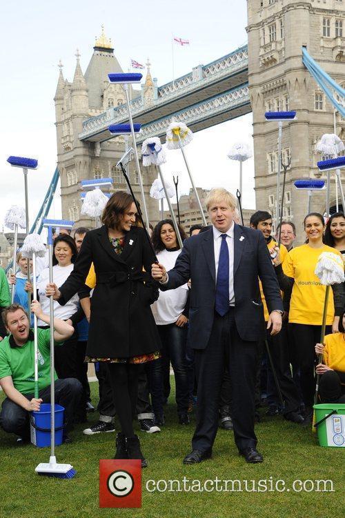 Boris Johnson and Keeley Hawes 8