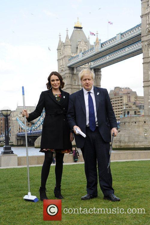 Boris Johnson and Keeley Hawes 9