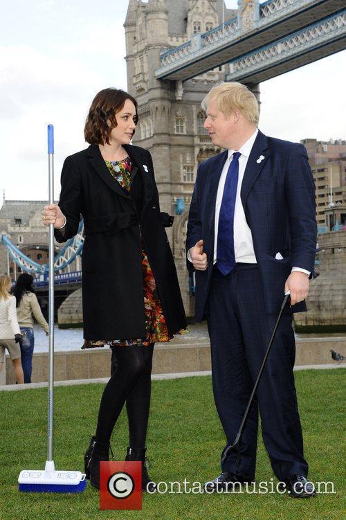Boris Johnson and Keeley Hawes 10