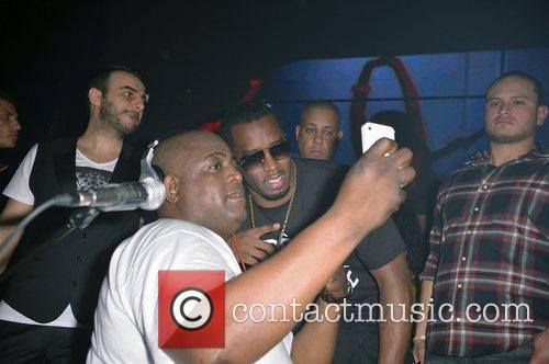 DJ SNS and P Diddy Thanksgiving celebrations at...