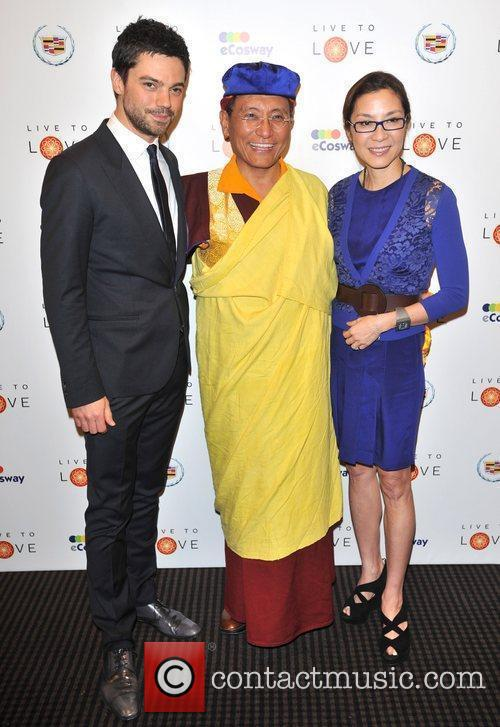 Dominic Cooper, Michelle Yeoh and Bafta 1