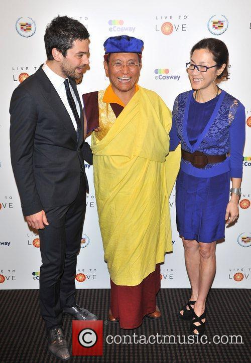 Dominic Cooper, Michelle Yeoh and Bafta 3
