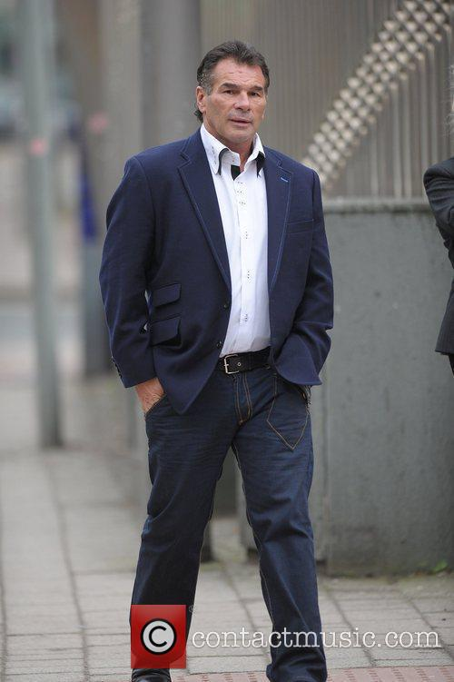 Paddy Doherty leaving Manchester Crown Court. Paddy received...