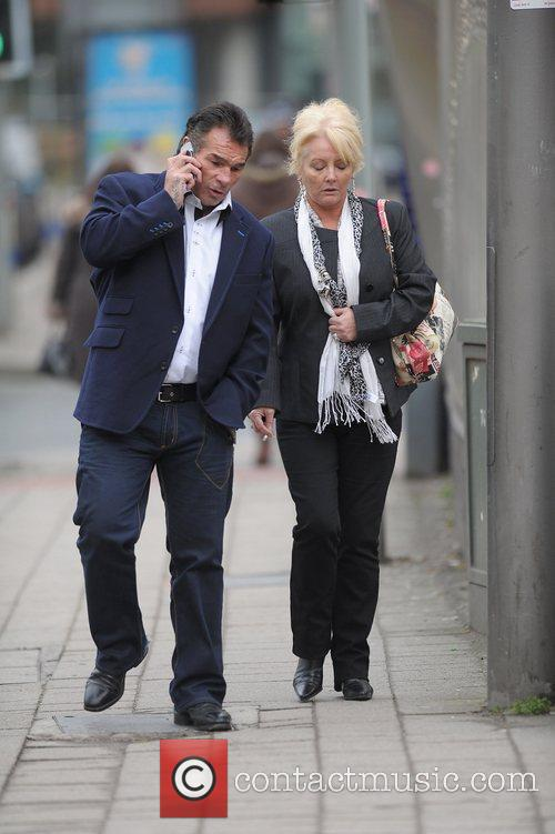 Paddy Doherty leaving Manchester Crown Court with his...