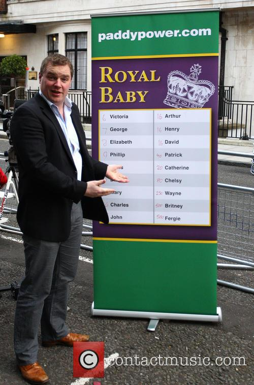A, Paddy Power, Prince William, Duke, Cambridge, Catherine, Duchess, King Edward, Hospital and Central London 5