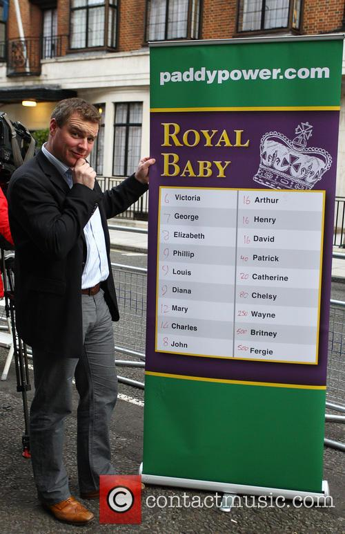 a representative from bookmakers paddy power displays 20018169