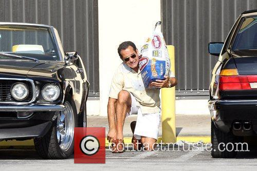 On the set of 'Pain and Gain', a...
