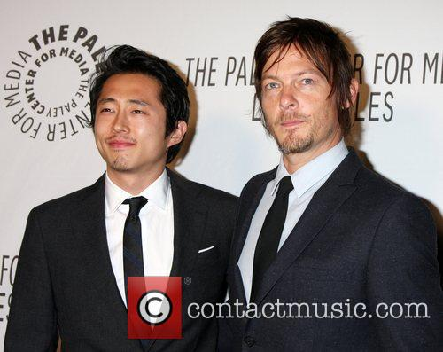 Steven Yeun, Norman Reedus, Paley Center for Media