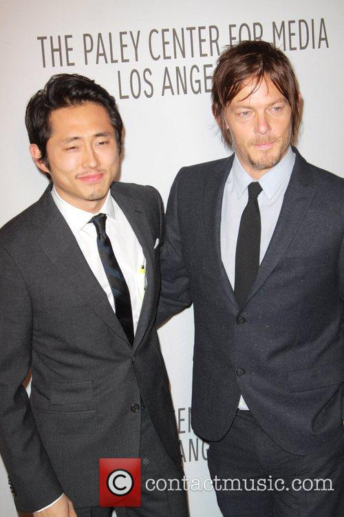 Steven Yeun, Norman Reedus and Paley Center For Media 3