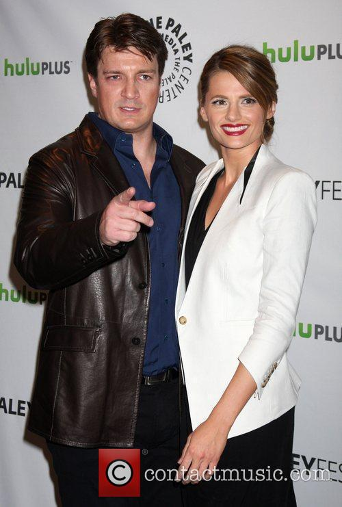 Nathan Fillion, Stana Katic and Paley Center For Media 2