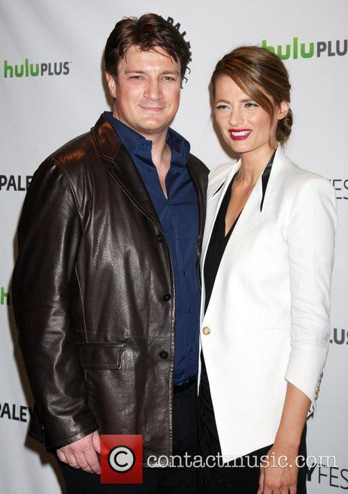 Nathan Fillion, Stana Katic and Paley Center For Media 4