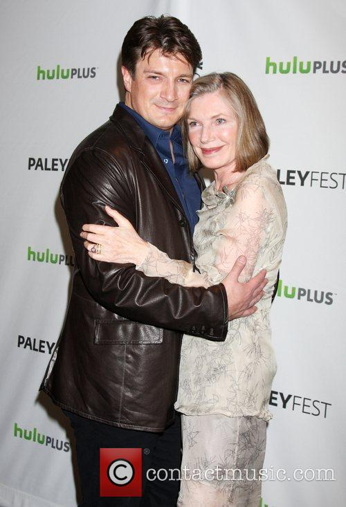 Nathan Fillion, Susan Sullivan and Paley Center for Media 2