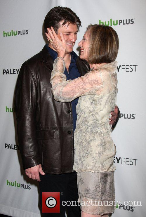 Nathan Fillion, Susan Sullivan and Paley Center for Media 3
