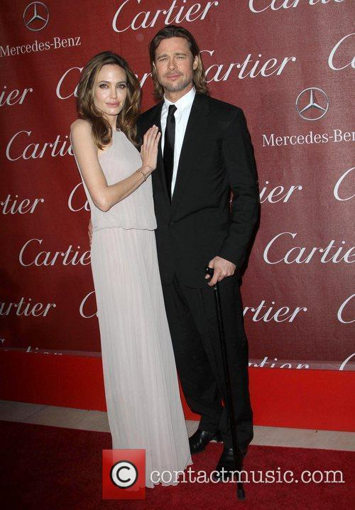 Angelina Jolie, Brad Pitt and Palm Springs Convention Center 9