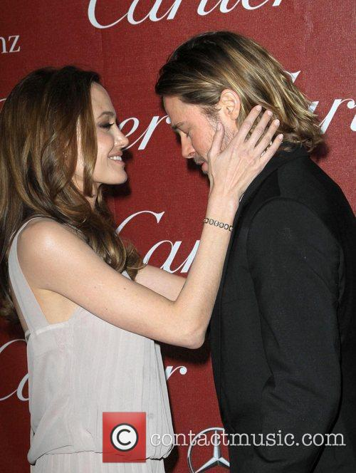 Angelina Jolie, Brad Pitt and Palm Springs Convention Center 3