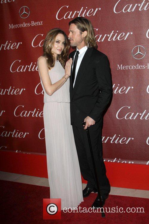 Angelina Jolie, Brad Pitt and Palm Springs Convention Center 8
