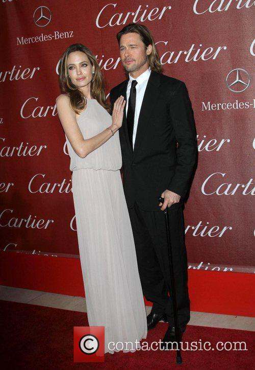 Angelina Jolie, Brad Pitt and Palm Springs Convention Center 9
