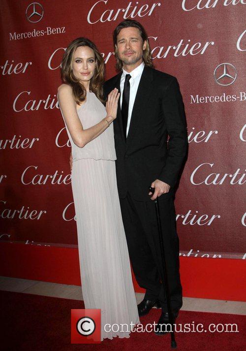 Angelina Jolie, Brad Pitt and Palm Springs Convention Center 11