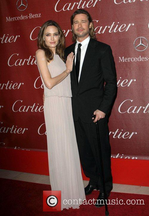 Angelina Jolie, Brad Pitt and Palm Springs Convention Center 10
