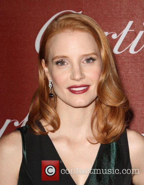 Jessica Chastain and Palm Springs Convention Center 8