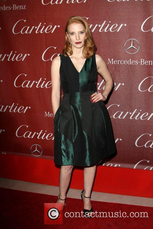 Jessica Chastain and Palm Springs Convention Center 3