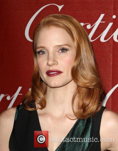 Jessica Chastain and Palm Springs Convention Center 9