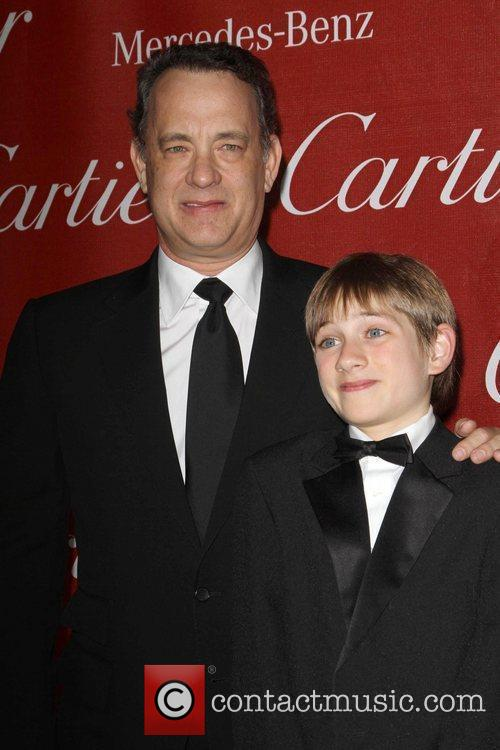 Tom Hanks, Thomas Horn and Palm Springs Convention Center 9