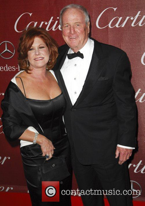 Jerry Weintraub and Guest The 23rd annual Palm...