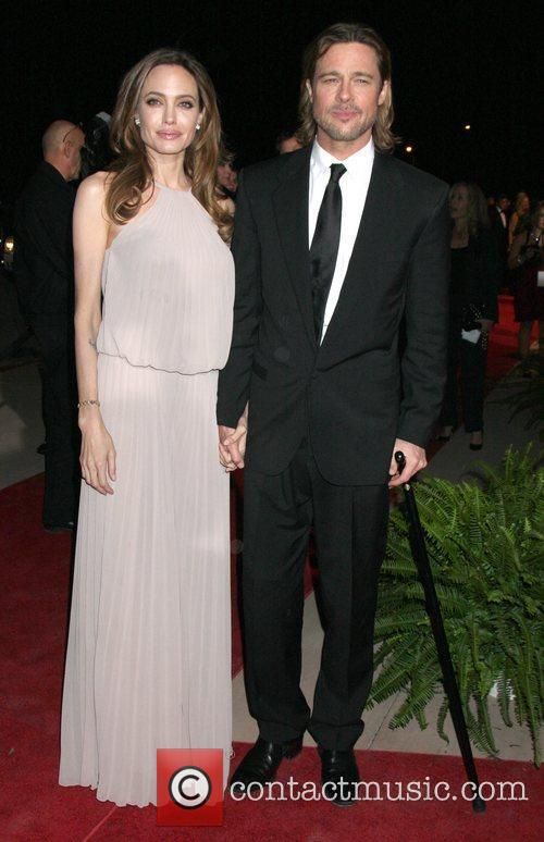 Angelina Jolie, Brad Pitt and Palm Springs Convention Center 1