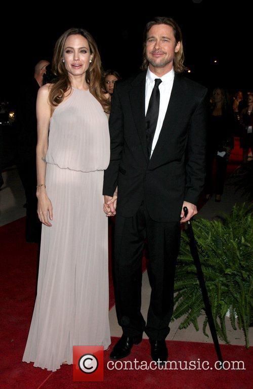 Angelina Jolie, Brad Pitt and Palm Springs Convention Center 14