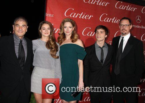 Robert Forster, Judy Greer, Matthew Lillard, Nick Krause, Shailene Woodley and Palm Springs Convention Center 2