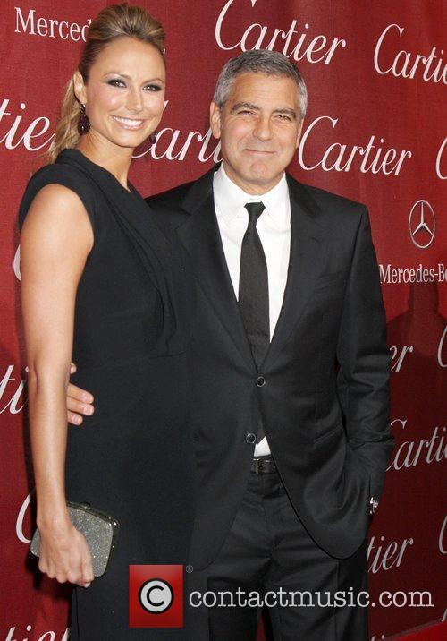 Stacy Keibler, George Clooney and Palm Springs Convention Center 3