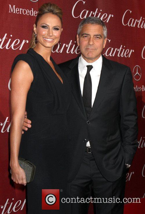 Stacy Keibler, George Clooney and Palm Springs Convention Center 1