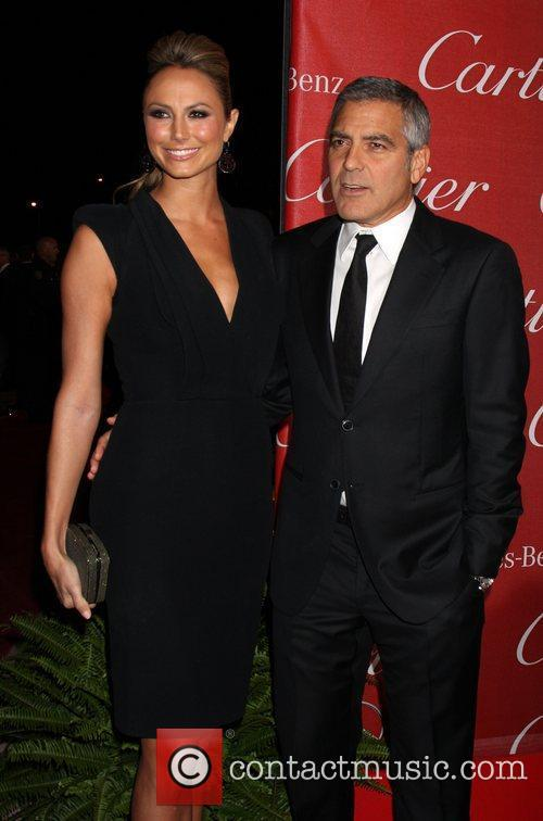 Stacy Keibler, George Clooney and Palm Springs Convention Center 4