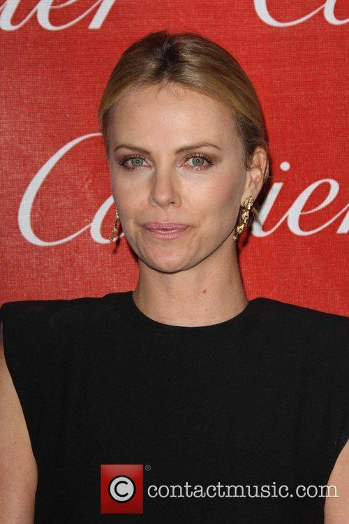 Charlize Theron and Palm Springs Convention Center 2