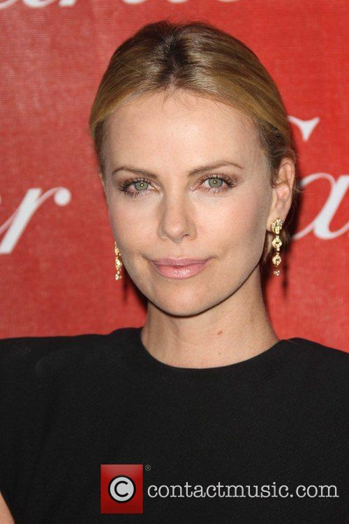 Charlize Theron and Palm Springs Convention Center 1
