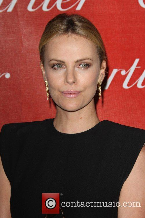 Charlize Theron and Palm Springs Convention Center 3