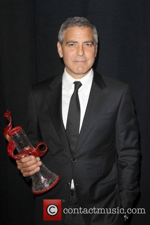 George Clooney and Palm Springs Convention Center 1