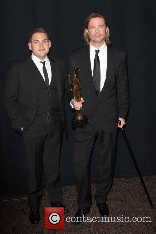 Jonah Hill and Brad Pitt The 23rd annual...