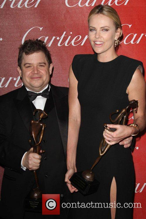 Patton Oswalt and Charlize Theron The 23rd annual...