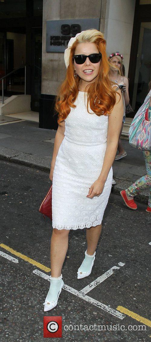 paloma faith leaving the sony head offices 4005620