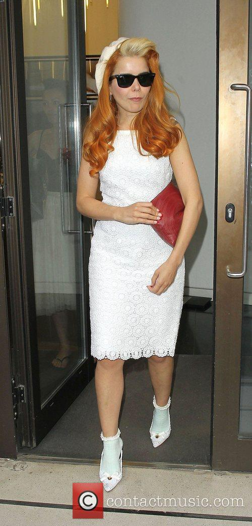paloma faith leaving the sony head offices 4005625