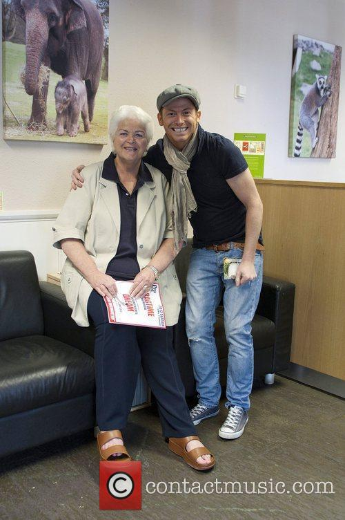 Joe Swash and Pam St. Clement Pam St....