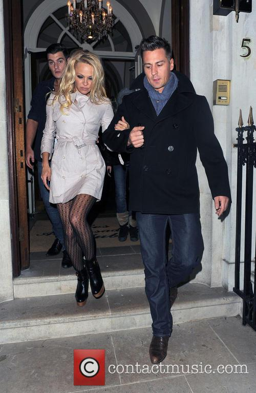 Pamela Anderson and Matt Evers 4