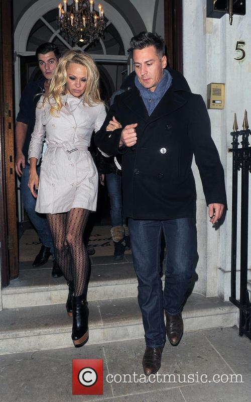 Pamela Anderson and Matt Evers 5