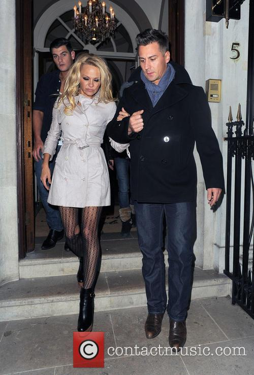 Pamela Anderson and Matt Evers 3