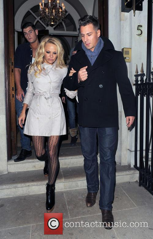 Pamela Anderson and Matt Evers 2