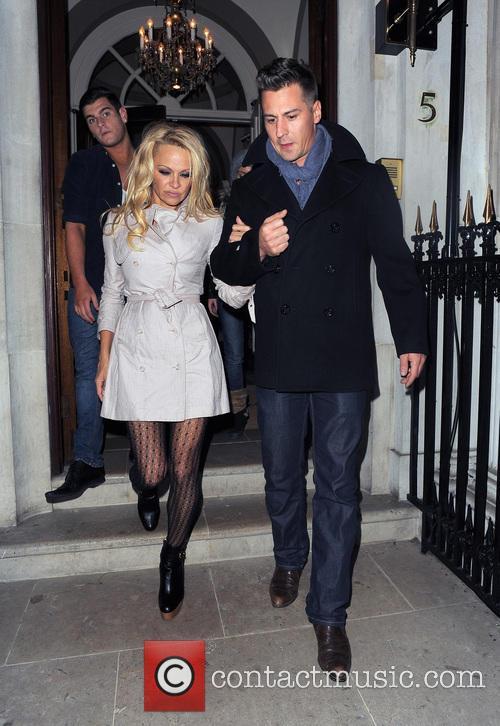 Pamela Anderson and Matt Evers 13