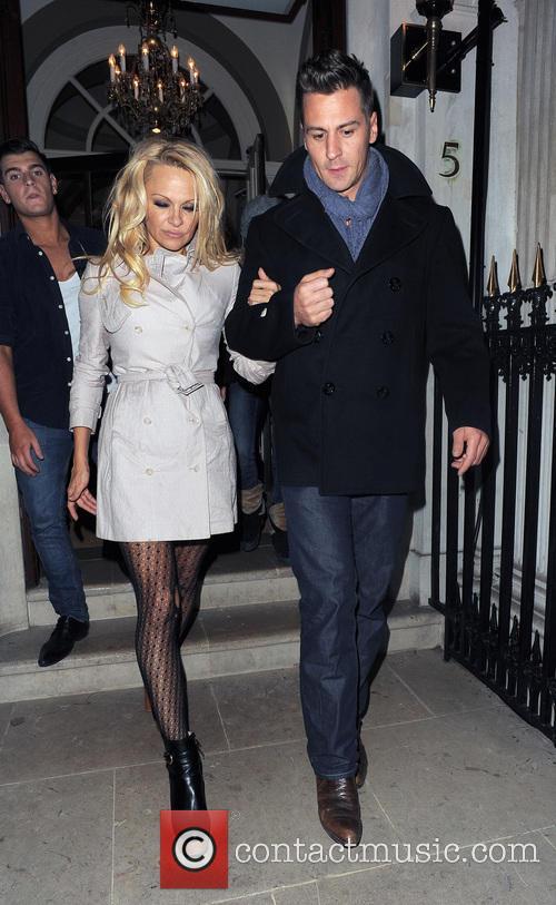 Pamela Anderson and Matt Evers 12